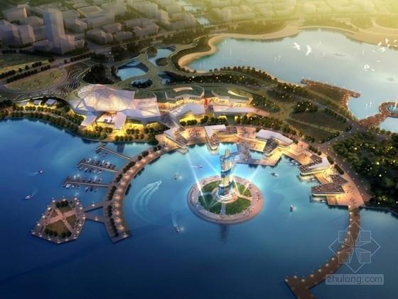 [上海]滨水城市规划及单体设计方案文本