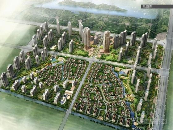 [江苏]公园型住宅小区景观规划设计
