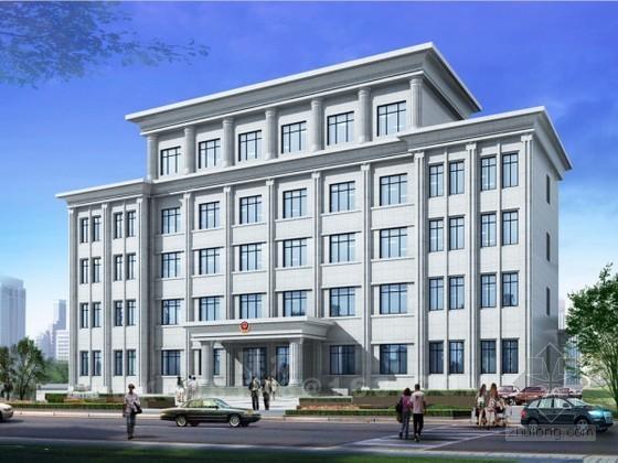 [辽宁]办公大厦施工组织设计(鲁班奖 图表齐全)