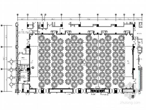 [深圳]五星级酒店高档奢华宴会厅装修施工图(含效果)