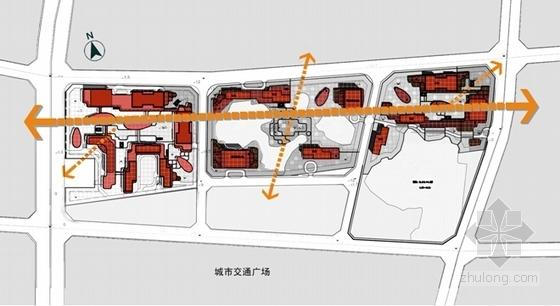 """[贵阳]""""绿谷""""体验式生态主题城市综合体建筑设计方案文本-体验式生态主题城市综合体分析图"""