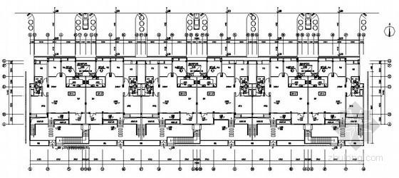 [武汉]多层住宅楼煤气设计施工图