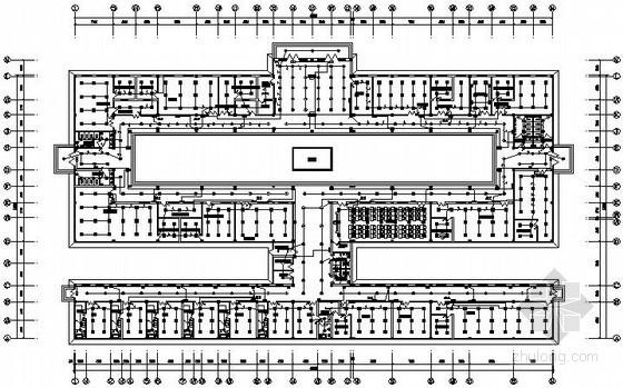 刚果(金)矿业区建筑群全套电气图纸83张(办公楼、宿舍、食堂)