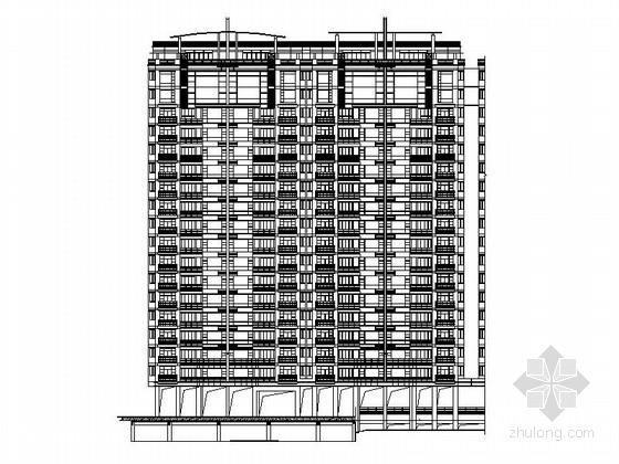 [珠海]某住宅区楼群建筑施工图