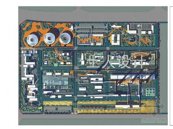 [大同]工业厂区景观改造规划设计方案