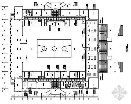 某体育馆室内设计