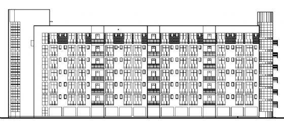 某七层高校学生宿舍楼