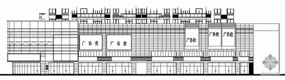 [山东]某大型商场幕墙建筑施工图