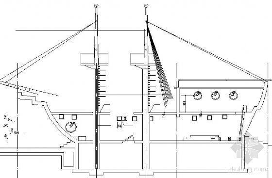帆船游乐设施施工图