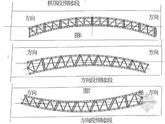 大桥主拱钢管拱肋加工预制施工方案