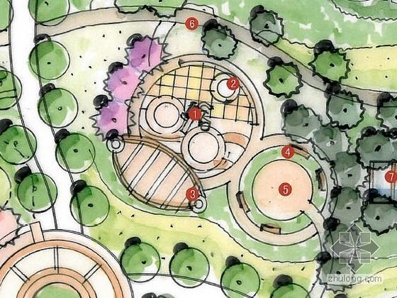 南通居住区组团绿地设计方案