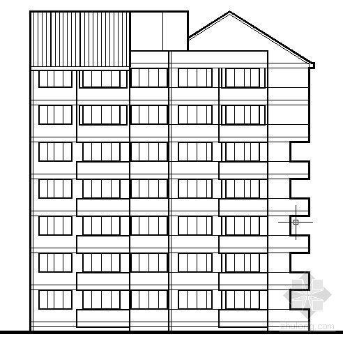 遵义市外环路沙河区修建性规划住宅楼方案图4