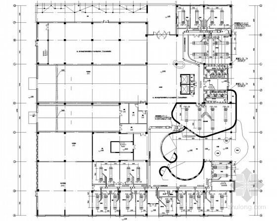 [江苏]多层实验办公楼空调通风及防排烟系统设计施工图(VRF系统)