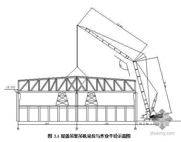 重型钢桁架爬行顶推安装技术