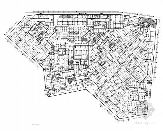 [广州]大型商业广场全套电气施工图纸128张(商业楼 公寓楼)