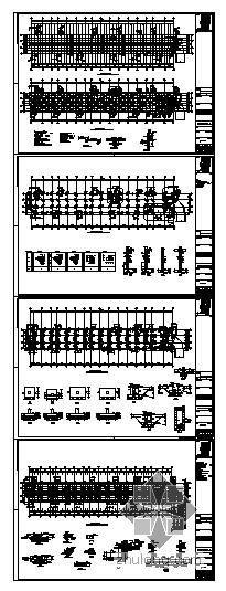 苏州某人防车库结构图
