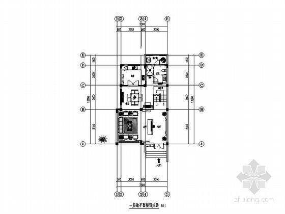 [苏州]现代中式四层别墅装饰施工图(含效果)