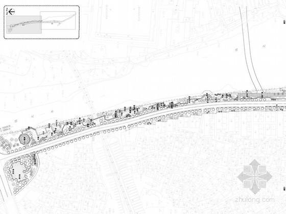 [徽州]某县城道路景观工程施工图