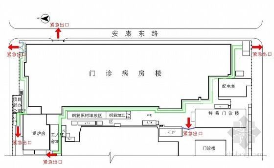 [北京]医院门诊楼悬挑脚手架施工方案(附计算书)