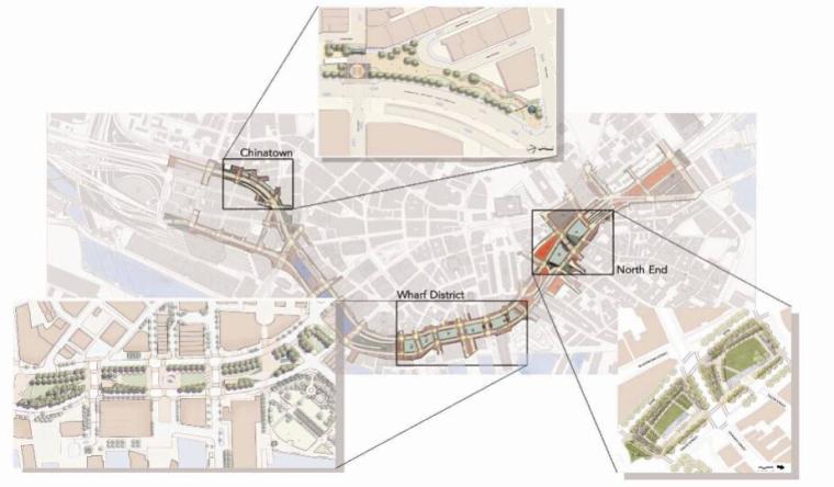 [国外]通道码头绿地公园景观规划设计