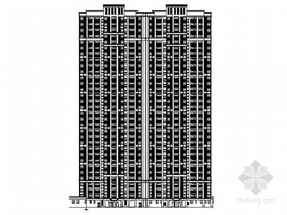 [湖北]现代风格住宅区规划设计施工图(百张图纸)