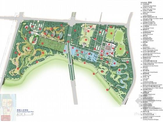 [北京]国际滨水生态活力新城景观规划设计
