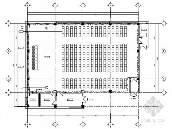 [哈尔滨]全国重点大学现代学生活动中心装修施工图(含效果及实景)