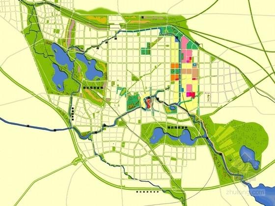 [河北]城市环城水系景观规划设计方案