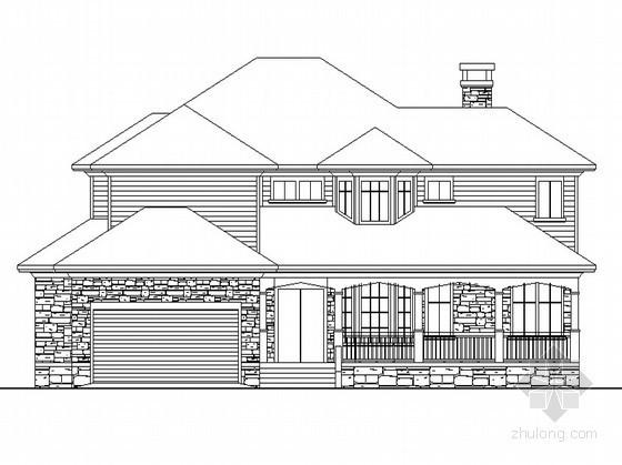 某二层别墅设计方案(带效果图)
