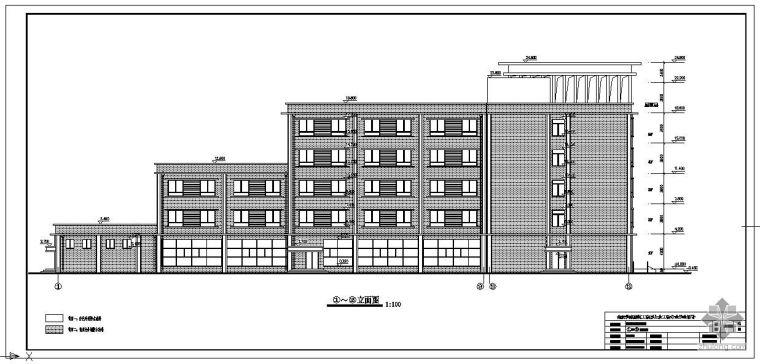 [学士]某城市快捷酒店毕业设计(含计算书、建筑结构设计图)