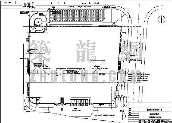 常熟市某超市燃气管道工程设计图