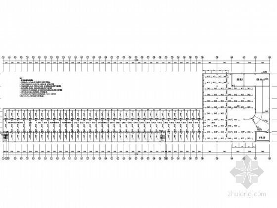 [山东]地下车库给排水消防施工图