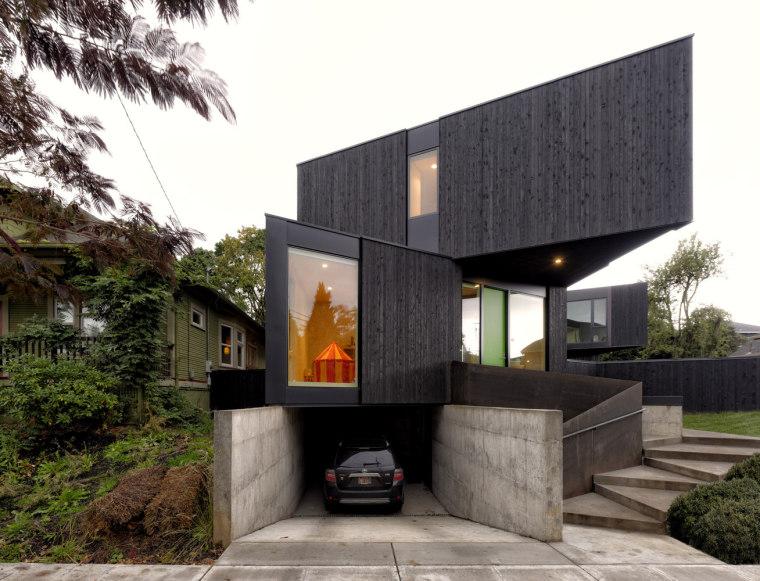 美国三角模块化住宅