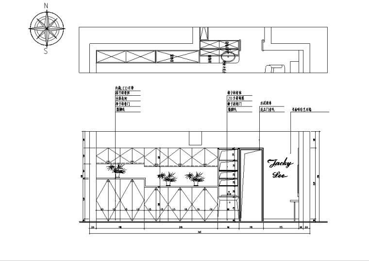 [杭州]现代工业风理发店设计施工图(含效果图)_6