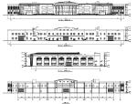 某超市商业建筑设计方案施工图CAD