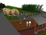 滨河公园3D模型