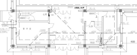 某学校教学楼给排水、暖通设计图