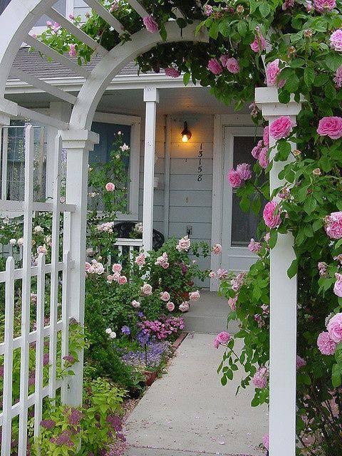 想要一个小院子,花开花落一辈子_20