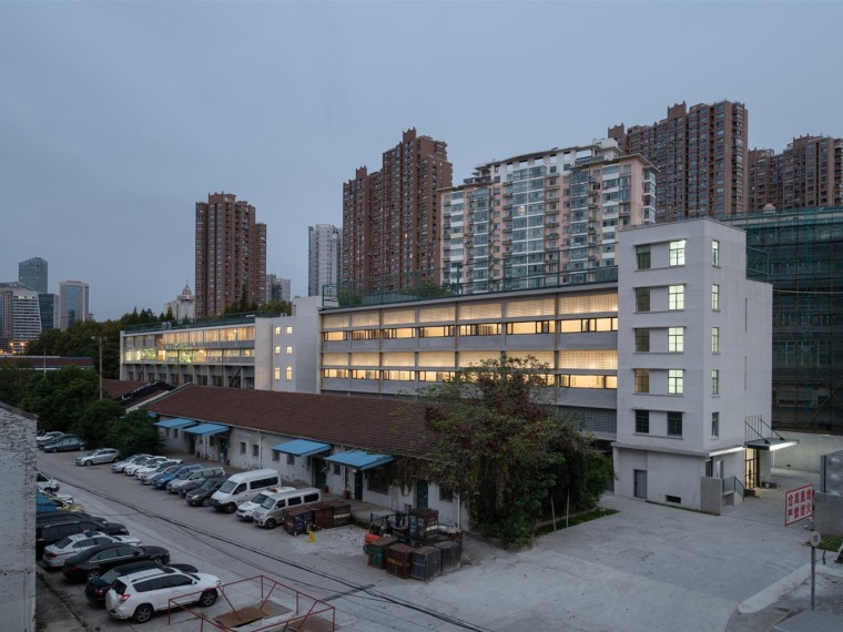 上海交通物资仓库改造