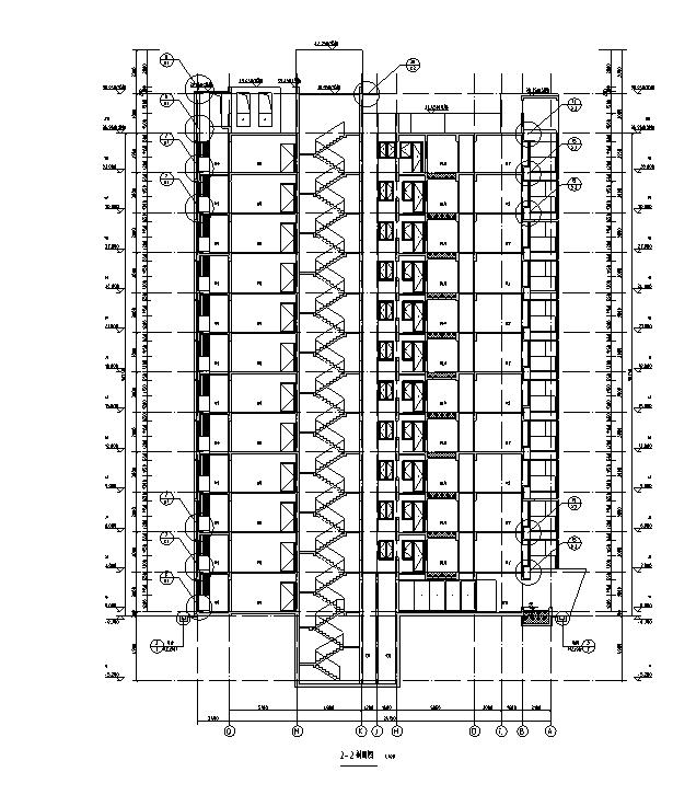 [海南]高层全专业审图后住宅建筑施工图(含全专业及车库)_2