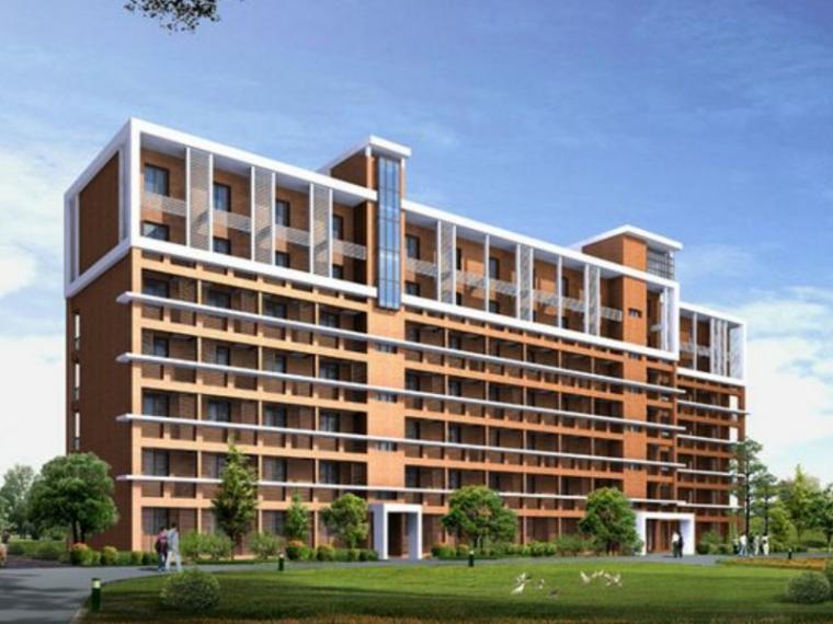 宿迁市4406平米六层框架宿舍楼结构计算毕业设计(Word.55页)