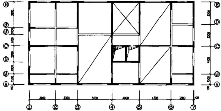 复杂梁式转换框支剪力墙结构受力性能分析