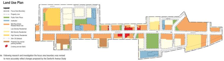 多伦多丹佛斯大街设计方案(英文)(PDF+88页)-功能分区