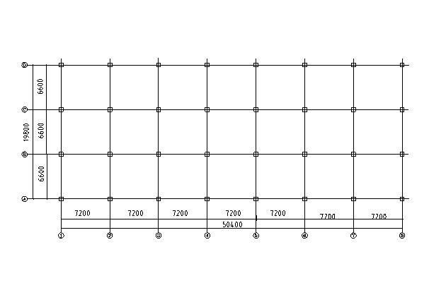 4989.6平米5层框架结构图书馆毕业设计计算书