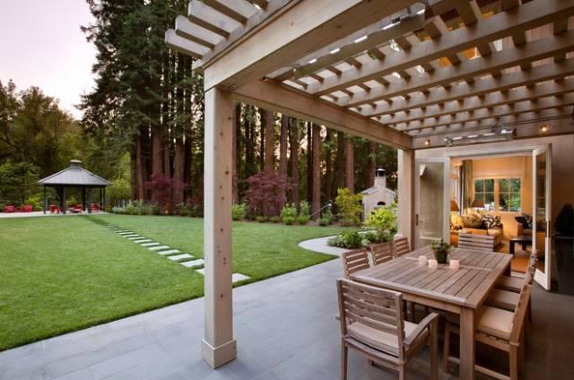 园林景观|廊架创意设计大全,美得不要不要的!