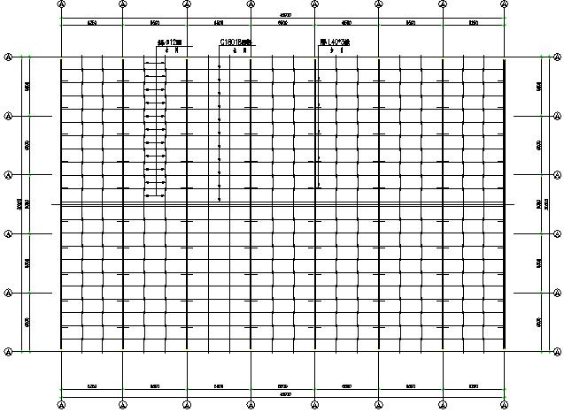 河南火电厂单跨门式刚架厂房钢结构工程施工图(CAD,8张)_3