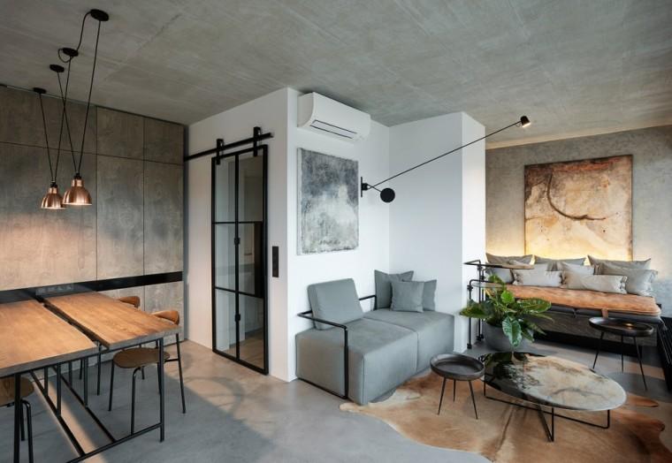 """""""非典型""""工业风-布拉格公寓设计_1"""