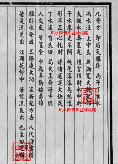 陈益峰:李湘生原始版《二十四山经》经文_18