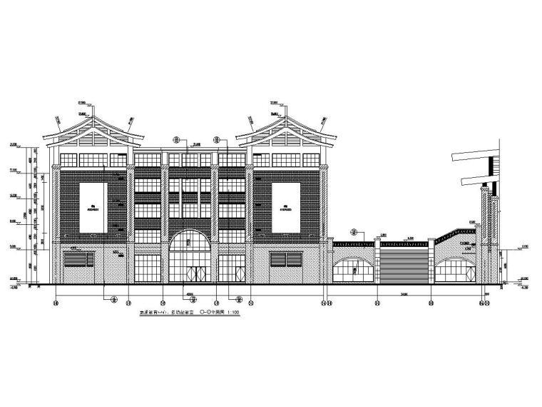 青年文化宫教育中心、文化活动中心、多功能教室建筑结构全套图