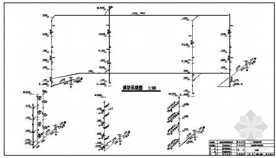 UPVC配件资料下载-新疆某中学教学楼给排水施工图